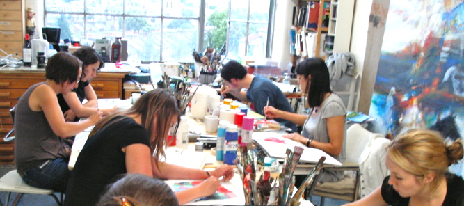 Art Classes London Drawing and Painting Lessons and Courses in Studio