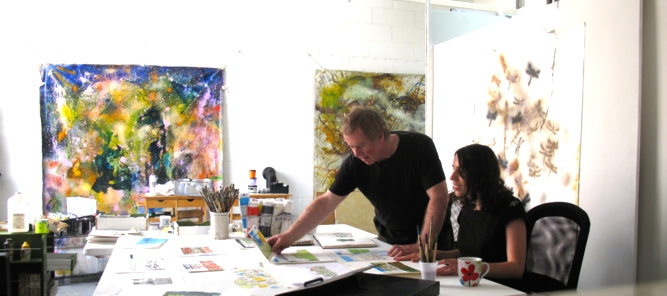 London Art Classes Studio Portfolio Preparation