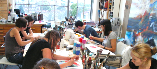 Art Classes London Beginners Drawing and Painting Lessons and Courses in Studio